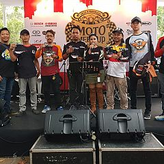 Wahana Tularkan Safety Riding ke 250 Bikers dari AHJ dan AHMT