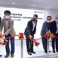 Hyundai Resmikan City Store Pertama di Lotte Shopping Avenue